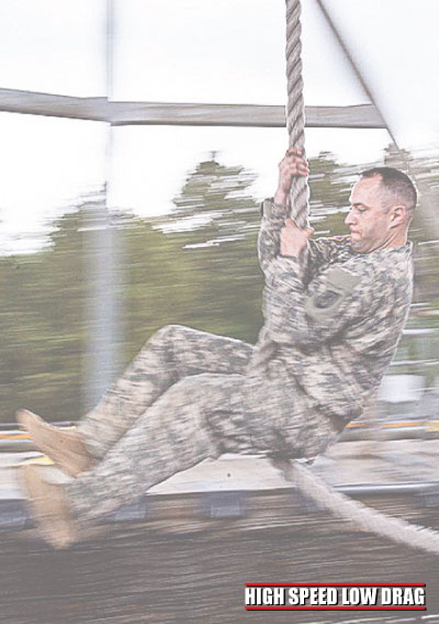 high speed low drag soldier training