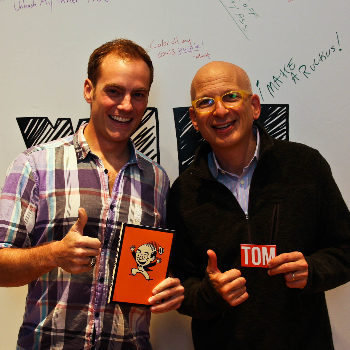Tom Morkes and Seth Godin